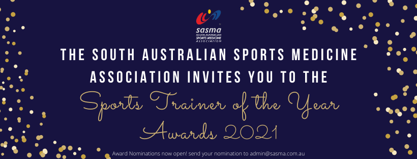 2021 Sports Trainer of the Year Awards Now Open